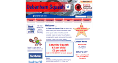 Preview of debenhamsquash.co.uk
